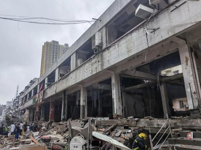 12 người chết trong vụ nổ khí ga kinh hoàng ở Trung Quốc ảnh 1