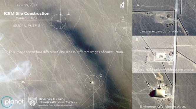 Chấn động: Trung Quốc xây dựng hơn 100 hầm chứa tên lửa đạn đạo liên lục địa trên sa mạc phía Tây ảnh 2