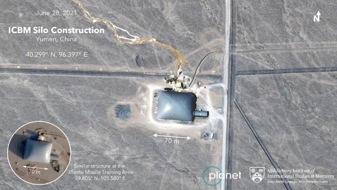 Chấn động: Trung Quốc xây dựng hơn 100 hầm chứa tên lửa đạn đạo liên lục địa trên sa mạc phía Tây ảnh 1