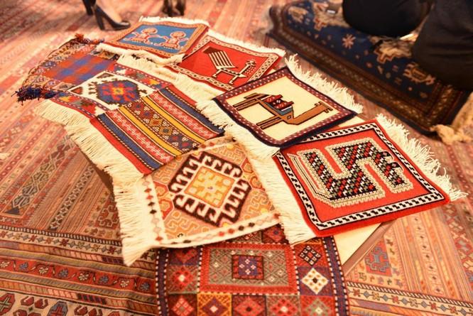 """Thảm dệt: """"Kho báu"""" trong nền văn hóa Azerbaijan ảnh 1"""