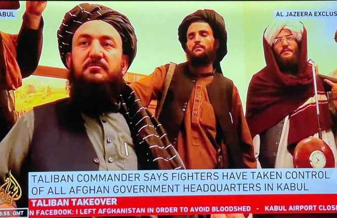 Ảnh: Chiến binh Taliban giành kiểm soát phủ Tổng thống Afghanistan ảnh 3