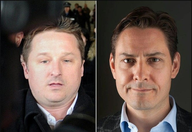 """2 công dân Canada được trả tự do, sau khi """"công chúa"""" Huawei Mạnh Vãn Chu về nước ảnh 1"""