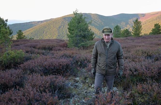 Tổng thống Putin buông cần câu cá giữa thiên nhiên hoang dã vùng Siberia ảnh 2