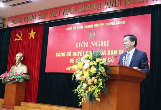 Ông Hồ Xuân Trường giữ chức Phó Bí thư Đảng uỷ Khối Doanh nghiệp Trung ương ảnh 1