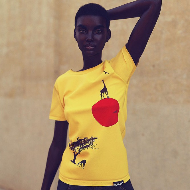 """""""Viên ngọc trai đen"""" nổi bật giữa dàn người mẫu nhờ công nghệ 3D ảnh 6"""