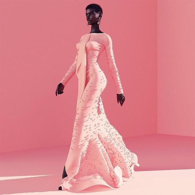 """""""Viên ngọc trai đen"""" nổi bật giữa dàn người mẫu nhờ công nghệ 3D ảnh 2"""