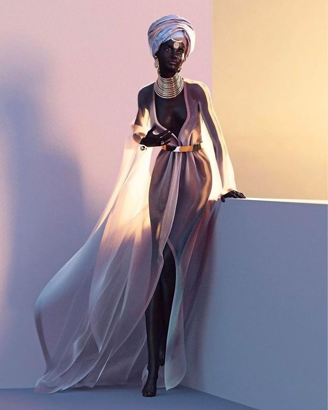 """""""Viên ngọc trai đen"""" nổi bật giữa dàn người mẫu nhờ công nghệ 3D ảnh 9"""