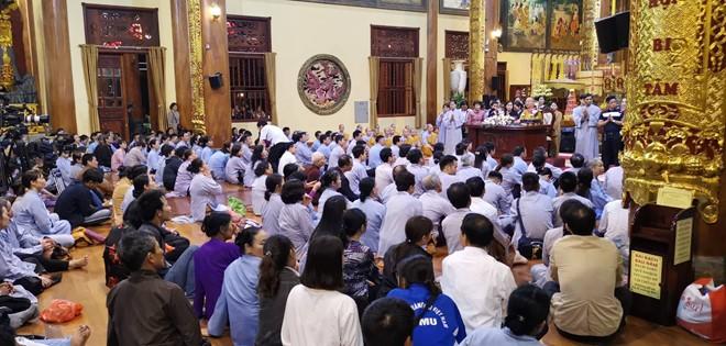 Đại đức Thích Trúc Thái Minh xin lỗi tăng ni, phật tử, tín đồ, nhân dân và các cơ quan báo chí ảnh 1