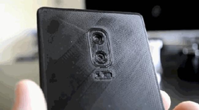 Rò rỉ mô hình của Galaxy Note 8 ảnh 1