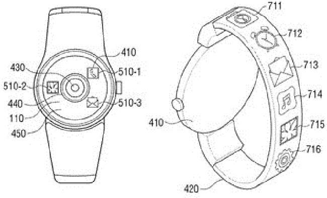 Samsung xin cấp bằng sáng chế cho máy tính bảng và smartwatch mới ảnh 2