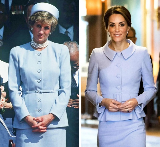 14 khoảnh khắc lấy cảm hứng từ trang phục của công nương Diana (P1) ảnh 6