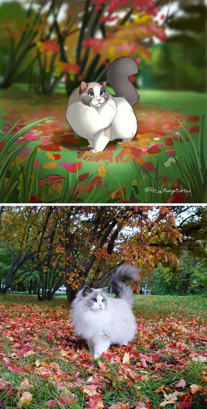 """15 bức ảnh """"hóa"""" đồ họa Disney nhờ công nghệ chỉnh sửa ảnh 1"""