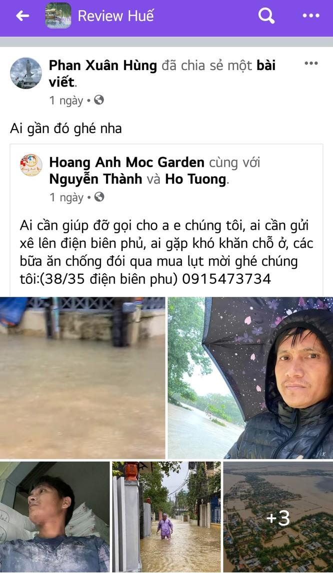 """Những khoảnh khắc đậm tình miền Trung trong mùa mưa lũ """"thắt tim"""" dân mạng ảnh 2"""