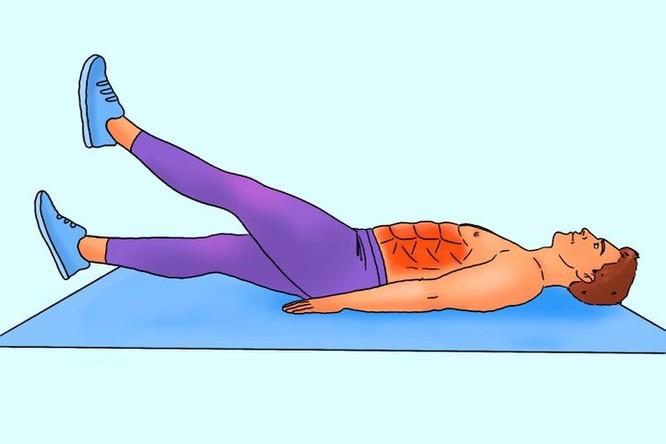 """10 động tác tập bụng tại nhà để nam giới sở hữu thân hình """"6 múi"""" ảnh 10"""