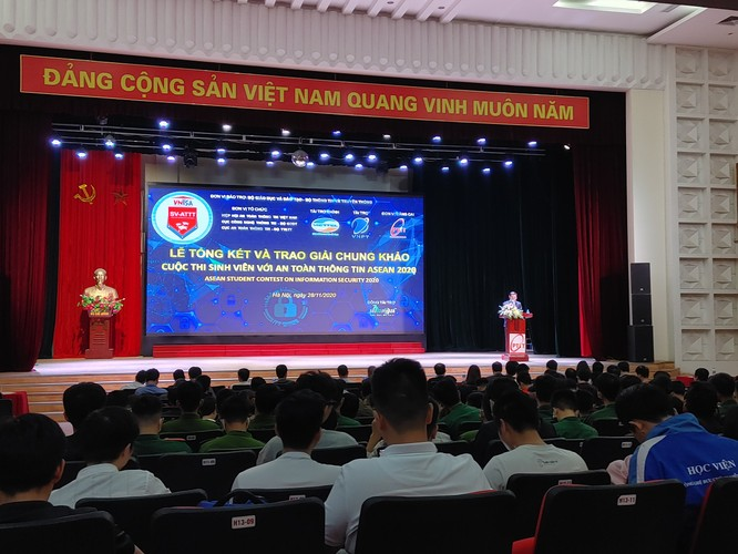 ĐHQG TP.HCM vô địch cuộc thi Sinh viên với An toàn thông tin ASEAN 2020 ảnh 1