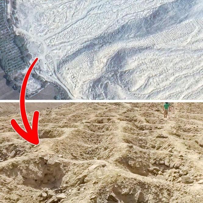 """10 """"vật thể lạ"""" được khám phá qua ứng dụng Google Maps ảnh 1"""