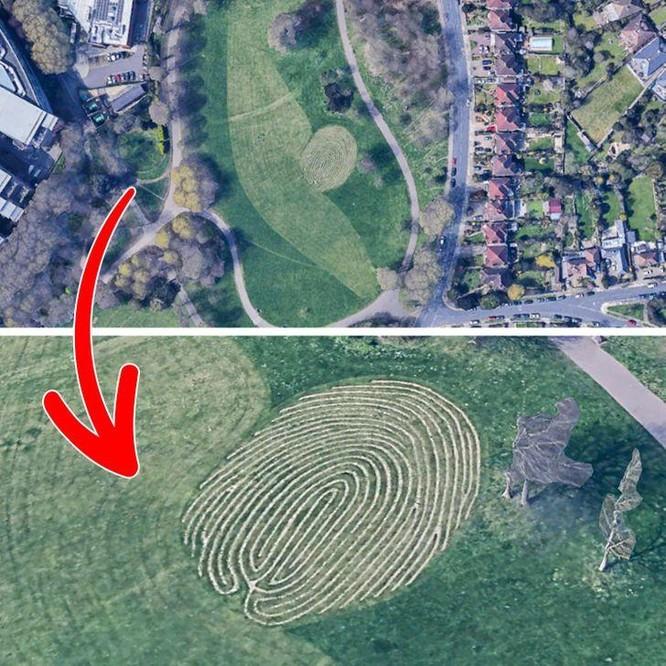 """10 """"vật thể lạ"""" được khám phá qua ứng dụng Google Maps ảnh 4"""