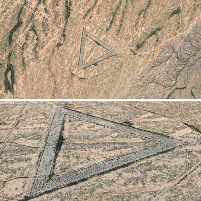 """10 """"vật thể lạ"""" được khám phá qua ứng dụng Google Maps ảnh 3"""