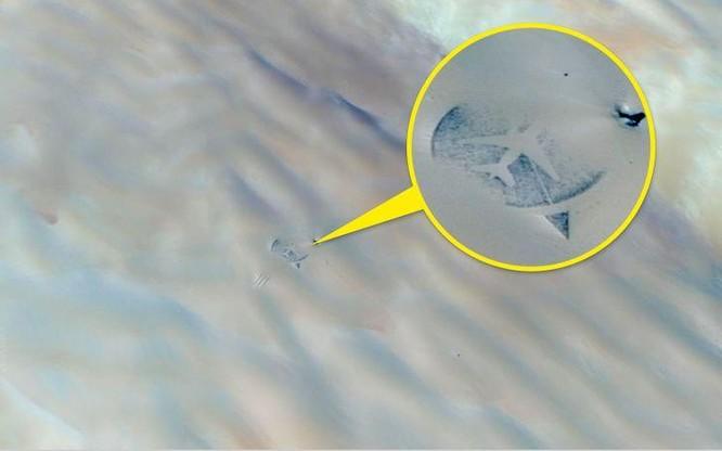 """10 """"vật thể lạ"""" được khám phá qua ứng dụng Google Maps ảnh 8"""