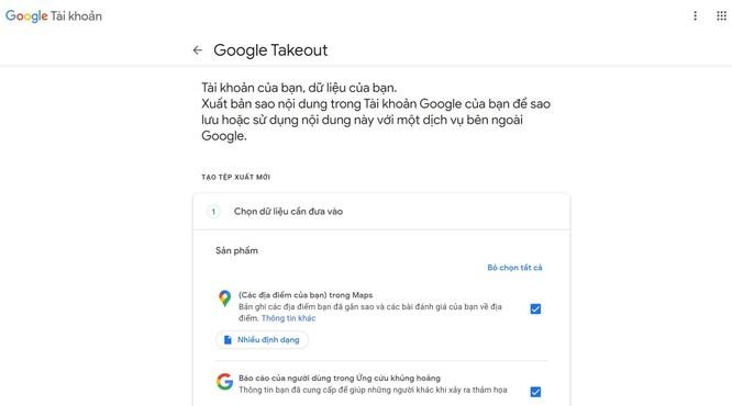 Cách sao lưu và xóa tài khoản Google an toàn ảnh 1