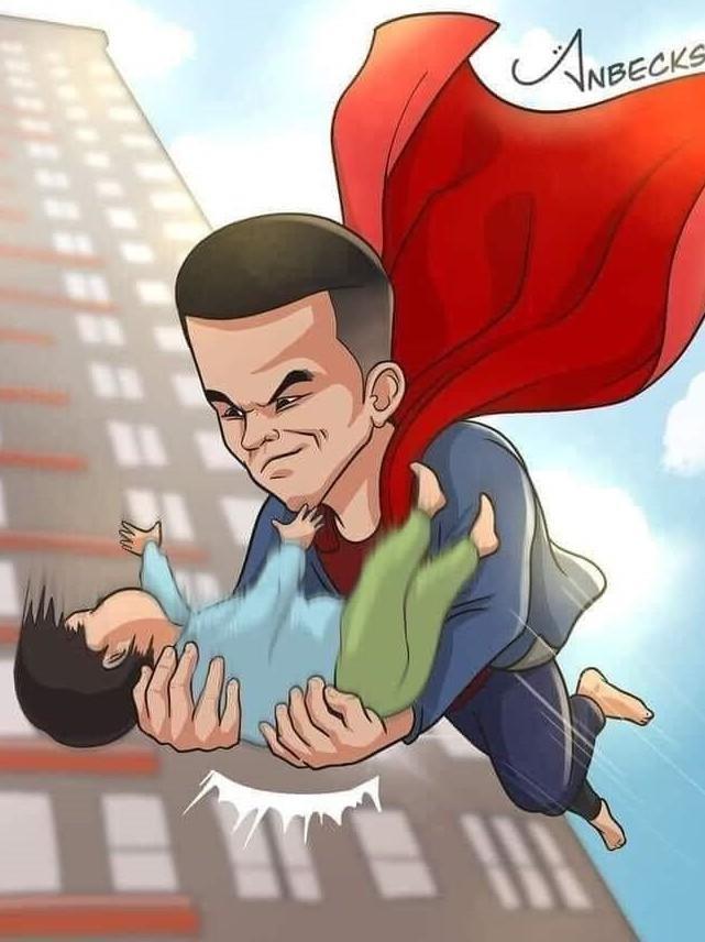 """Dân mạng ca ngợi """"người hùng"""", dùng cả vật lý và toán học để tính lực rơi của cháu bé 3 tuổi ảnh 3"""