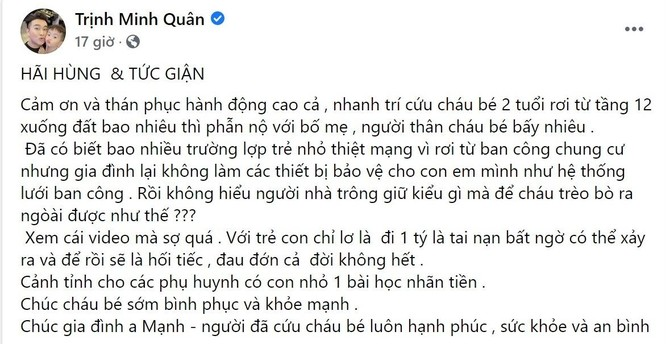 """Sao Việt cảm phục sự dũng cảm của Nguyễn Ngọc Mạnh, đề nghị hỗ trợ """"tiền cảm kích"""" ảnh 3"""
