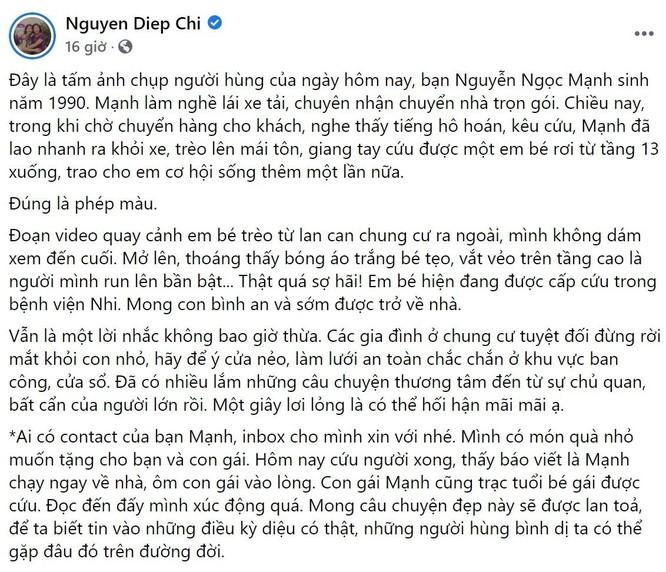 """Sao Việt cảm phục sự dũng cảm của Nguyễn Ngọc Mạnh, đề nghị hỗ trợ """"tiền cảm kích"""" ảnh 2"""