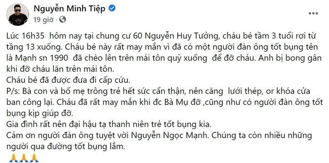"""Sao Việt cảm phục sự dũng cảm của Nguyễn Ngọc Mạnh, đề nghị hỗ trợ """"tiền cảm kích"""" ảnh 4"""