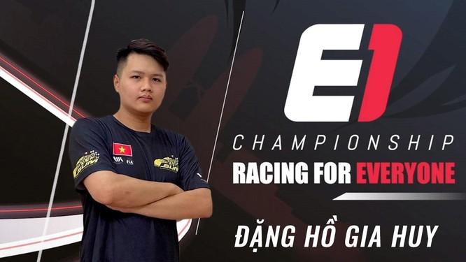 2 đại diện Việt Nam dự Giải đua xe Thể thao mô phỏng E1 Championship Season 1 ảnh 1