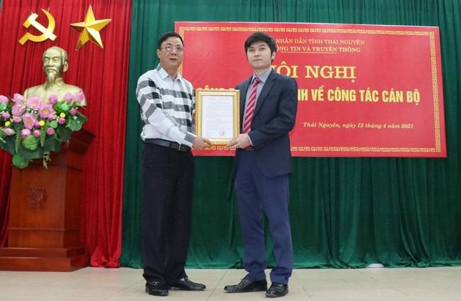 Thái Nguyên bổ nhiệm Phó Giám đốc Sở Thông tin và Truyền thông ảnh 1