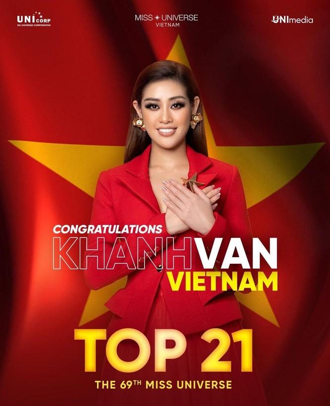 Dừng chân ở top 21 Miss Universe, Khánh Vân trải lòng về hành trình đáng nhớ ảnh 1