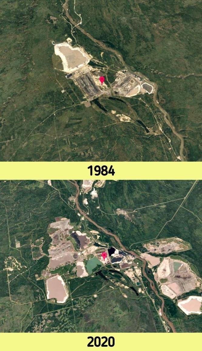 12 bức ảnh vệ tinh chứng minh sự thay đổi đáng kinh ngạc của Trái đất (P1) ảnh 6