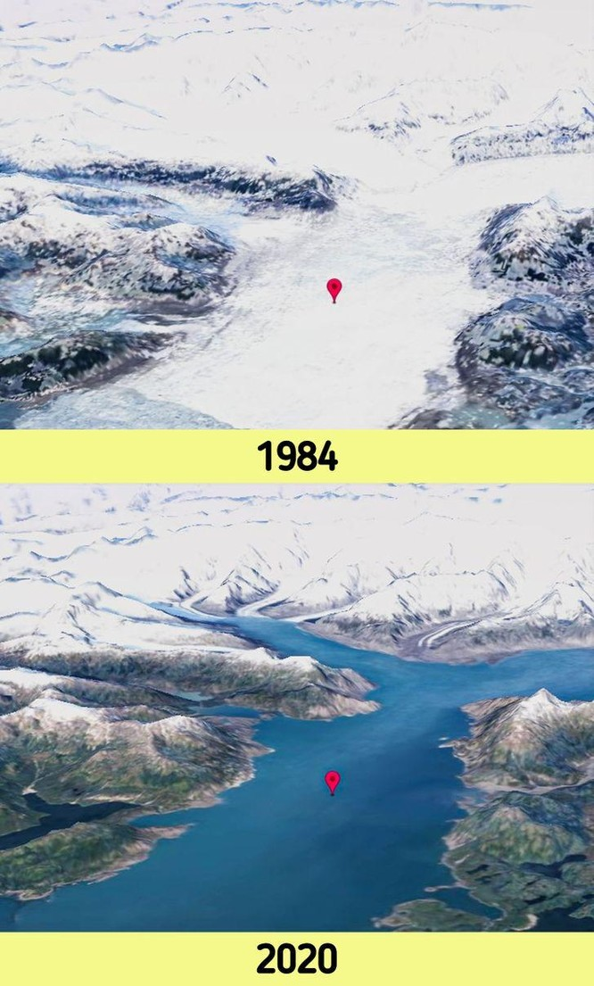 12 bức ảnh vệ tinh chứng minh sự thay đổi đáng kinh ngạc của Trái đất (P1) ảnh 5
