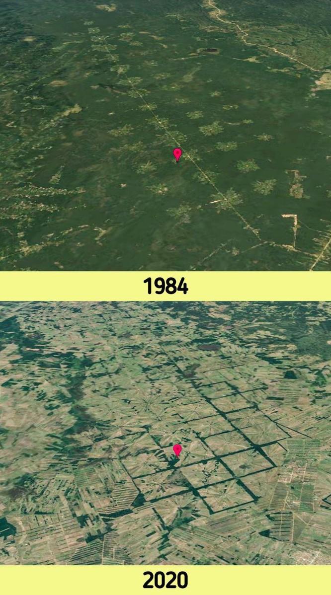 12 bức ảnh vệ tinh chứng minh sự thay đổi đáng kinh ngạc của Trái đất (P1) ảnh 3