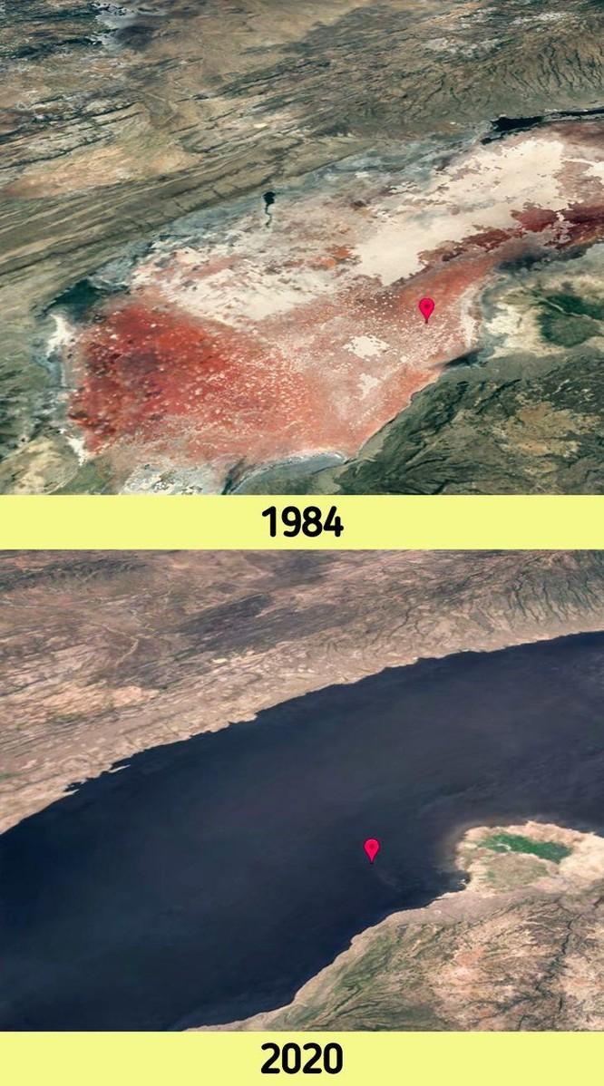 12 bức ảnh vệ tinh chứng minh sự thay đổi đáng kinh ngạc của Trái đất (P1) ảnh 2