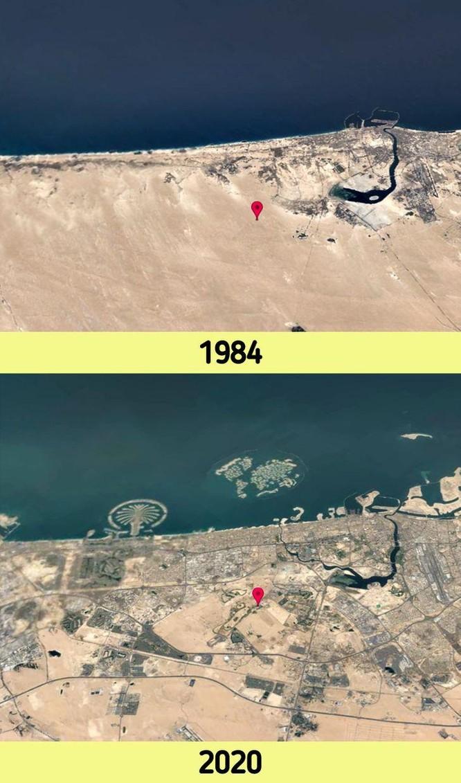 12 bức ảnh vệ tinh chứng minh sự thay đổi đáng kinh ngạc của Trái đất (P1) ảnh 1