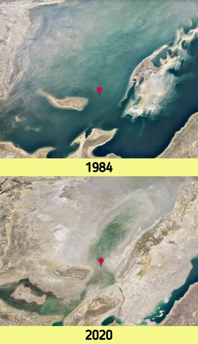 12 bức ảnh vệ tinh chứng minh sự thay đổi đáng kinh ngạc của Trái đất (P2) ảnh 1