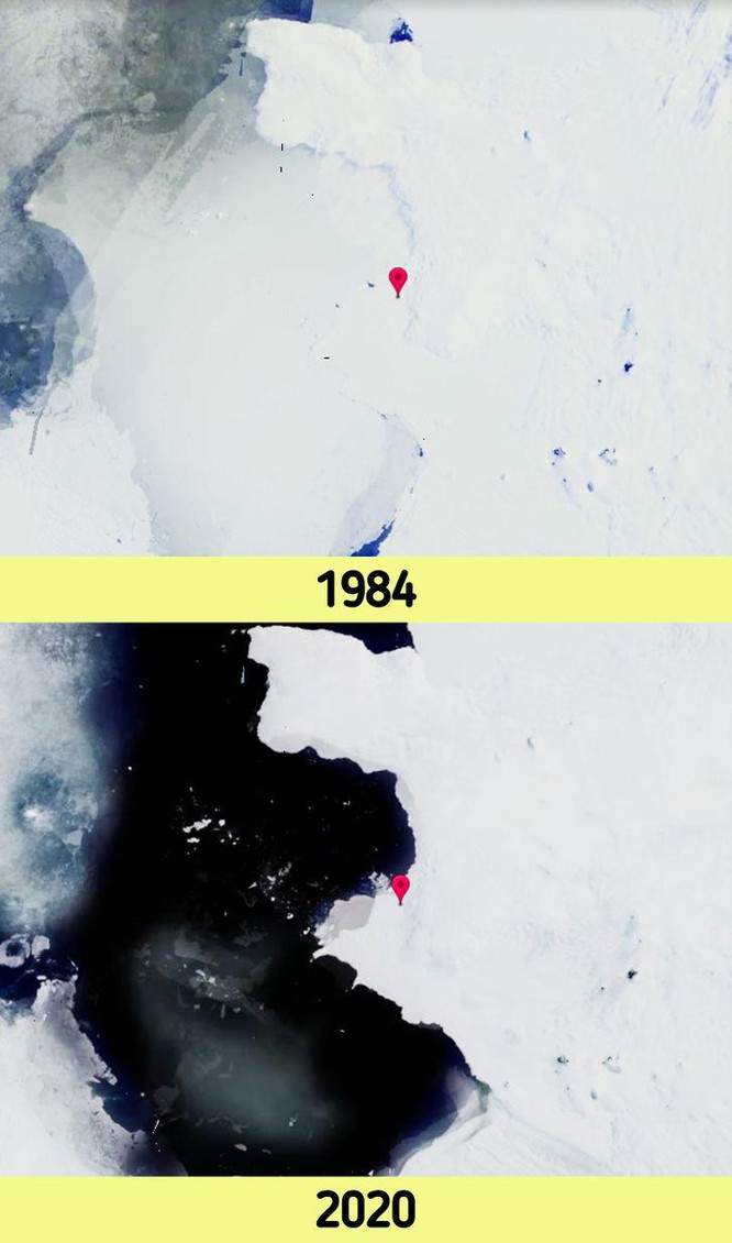 12 bức ảnh vệ tinh chứng minh sự thay đổi đáng kinh ngạc của Trái đất (P2) ảnh 4