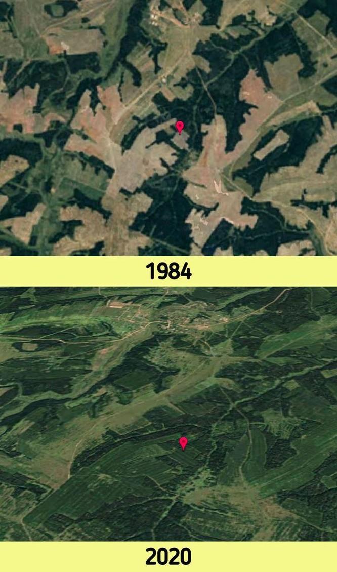12 bức ảnh vệ tinh chứng minh sự thay đổi đáng kinh ngạc của Trái đất (P2) ảnh 6