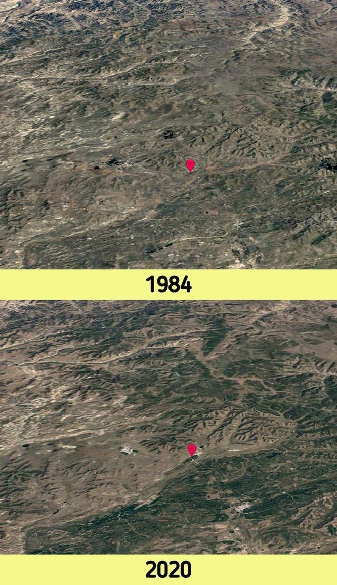 12 bức ảnh vệ tinh chứng minh sự thay đổi đáng kinh ngạc của Trái đất (P2) ảnh 2