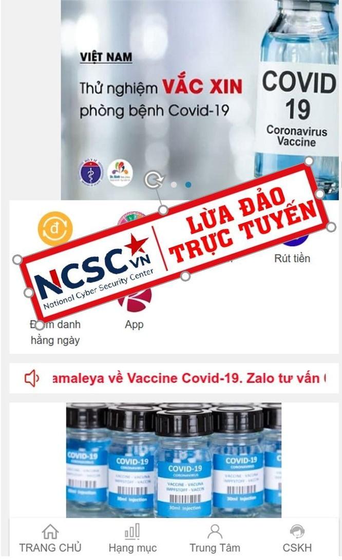 8 thủ đoạn lừa đảo trên không gian mạng lợi dụng dịch COVID-19 ảnh 1
