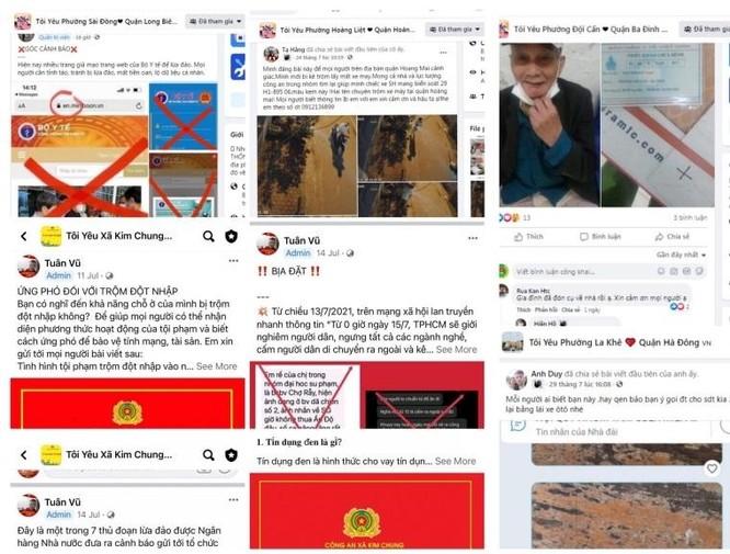 """579 nhóm cộng đồng dân cư xã, phường, thị trấn thiết lập """"vùng xanh"""" trên không gian mạng ảnh 1"""