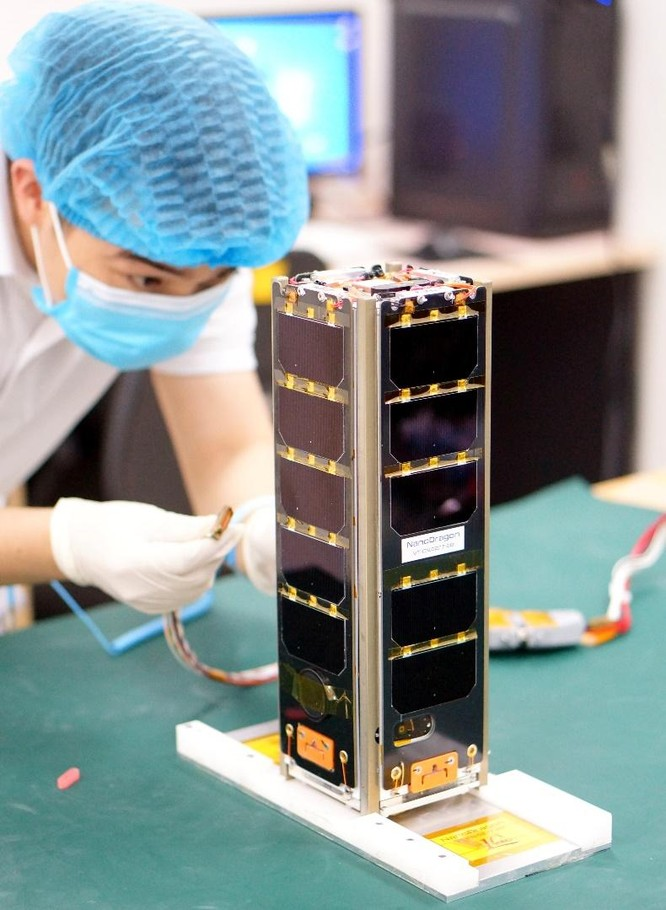 Vệ tinh NanoDragon của Việt Nam chuẩn bị phóng lên quỹ đạo ảnh 1
