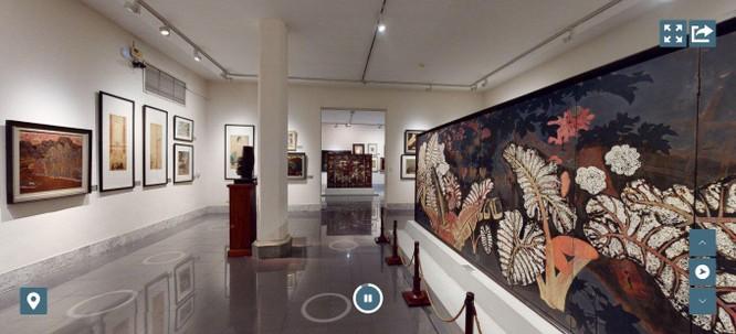 Bảo tàng Mỹ thuật Việt Nam ra mắt công nghệ tham quan trực tuyến 3D Tour ảnh 1