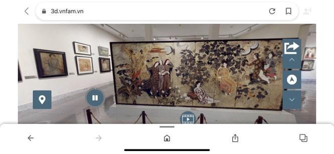 Bảo tàng Mỹ thuật Việt Nam ra mắt công nghệ tham quan trực tuyến 3D Tour ảnh 4