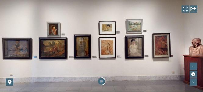 Bảo tàng Mỹ thuật Việt Nam ra mắt công nghệ tham quan trực tuyến 3D Tour ảnh 2