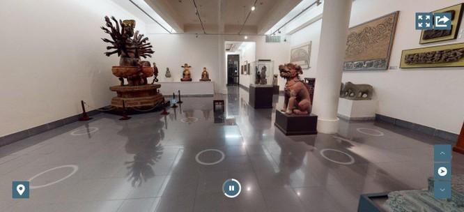 Bảo tàng Mỹ thuật Việt Nam ra mắt công nghệ tham quan trực tuyến 3D Tour ảnh 3