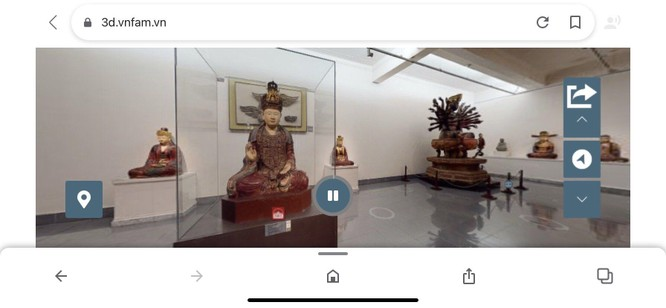Bảo tàng Mỹ thuật Việt Nam ra mắt công nghệ tham quan trực tuyến 3D Tour ảnh 6