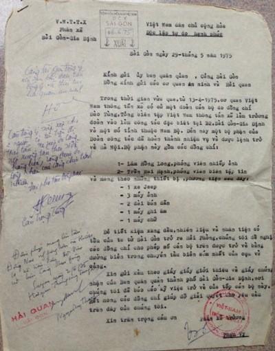Bài báo đầu tiên về những giờ phút lịch sử trưa 30/4/1975 tại dinh Độc Lập ảnh 2