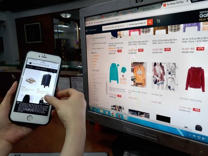 """Báo động """"sập bẫy"""" mua sắm online ảnh 1"""
